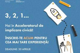 Societatea Academică din România a lansat apelul de selecție pentru proiectul: Acceleratorul de implicare civică pentru tineri