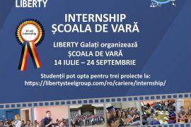 Școala de vară organizată de LIBERTY Galați în colaborare cu UDJG